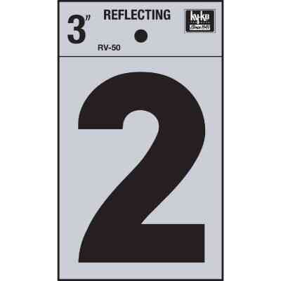 Hy-Ko Vinyl 3 In. Reflective Adhesive Number Two