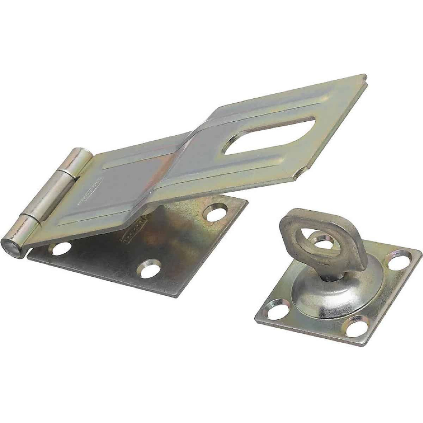 National 6 In. Zinc Swivel Safety Hasp Image 1