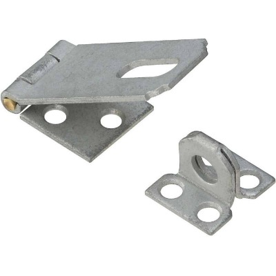 National 2-1/2 In. Galvanized Non-Swivel Safety Hasp