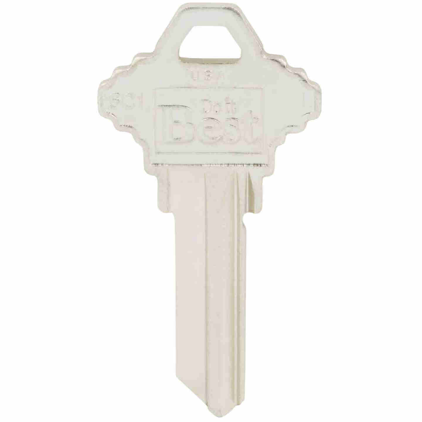 Do it Best Schlage Nickel Plated House Key, SC1 (10-Pack) Image 2