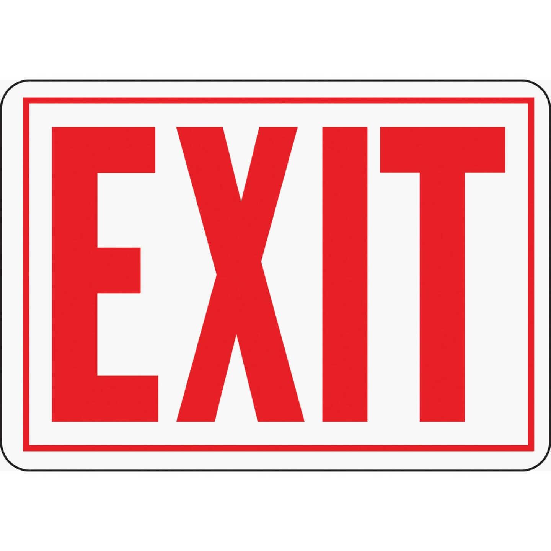 Hy-Ko Aluminum Sign, Exit Image 1