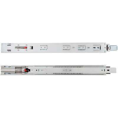 "Knape & Vogt 16"" 50lb Light Duty Soft Close Full Extension Drawer Slide (1-Pair)"