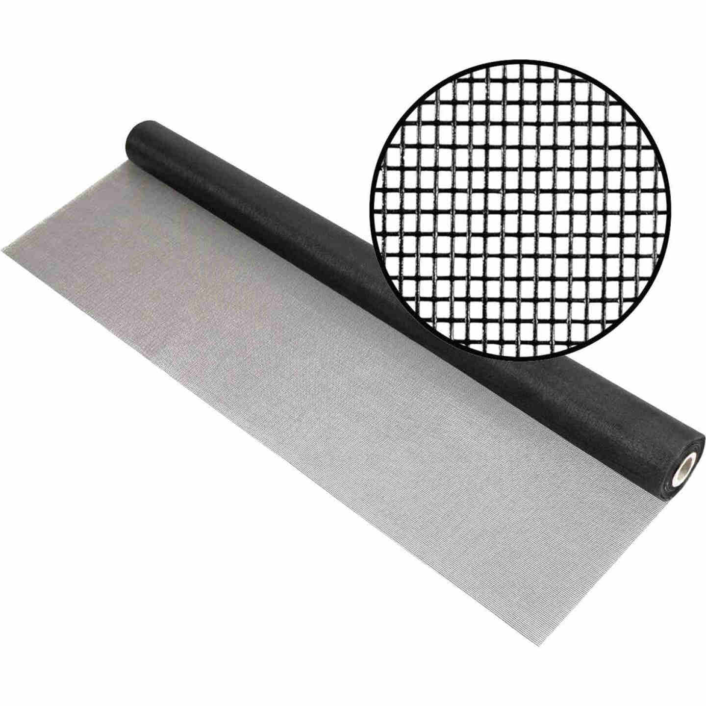 Phifer 30 In. x 100 Ft. Charcoal Fiberglass Mesh Screen Cloth Image 1