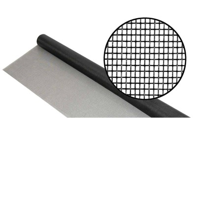 Phifer 24 In. x 100 Ft. Charcoal Fiberglass Mesh Screen Cloth