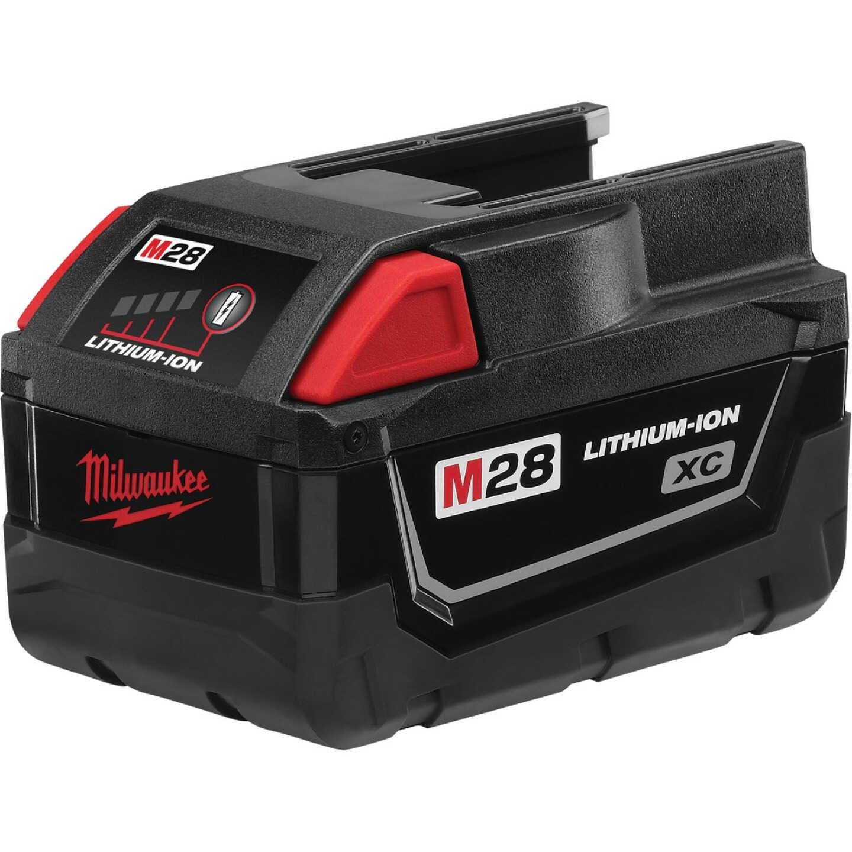 Milwaukee M28 REDLITHIUM XC 28 Volt Lithium-Ion 3.0 Ah Tool Battery Image 1