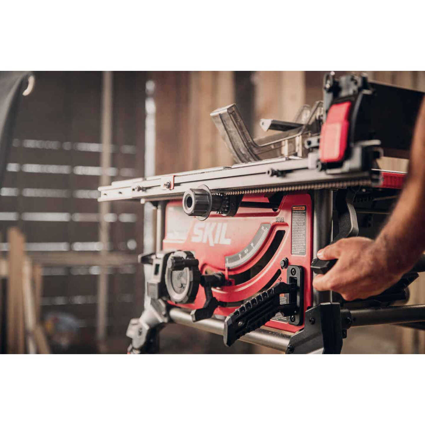 SKIL 15A 10 In. Table Saw with Integrated Folding Stand Image 8