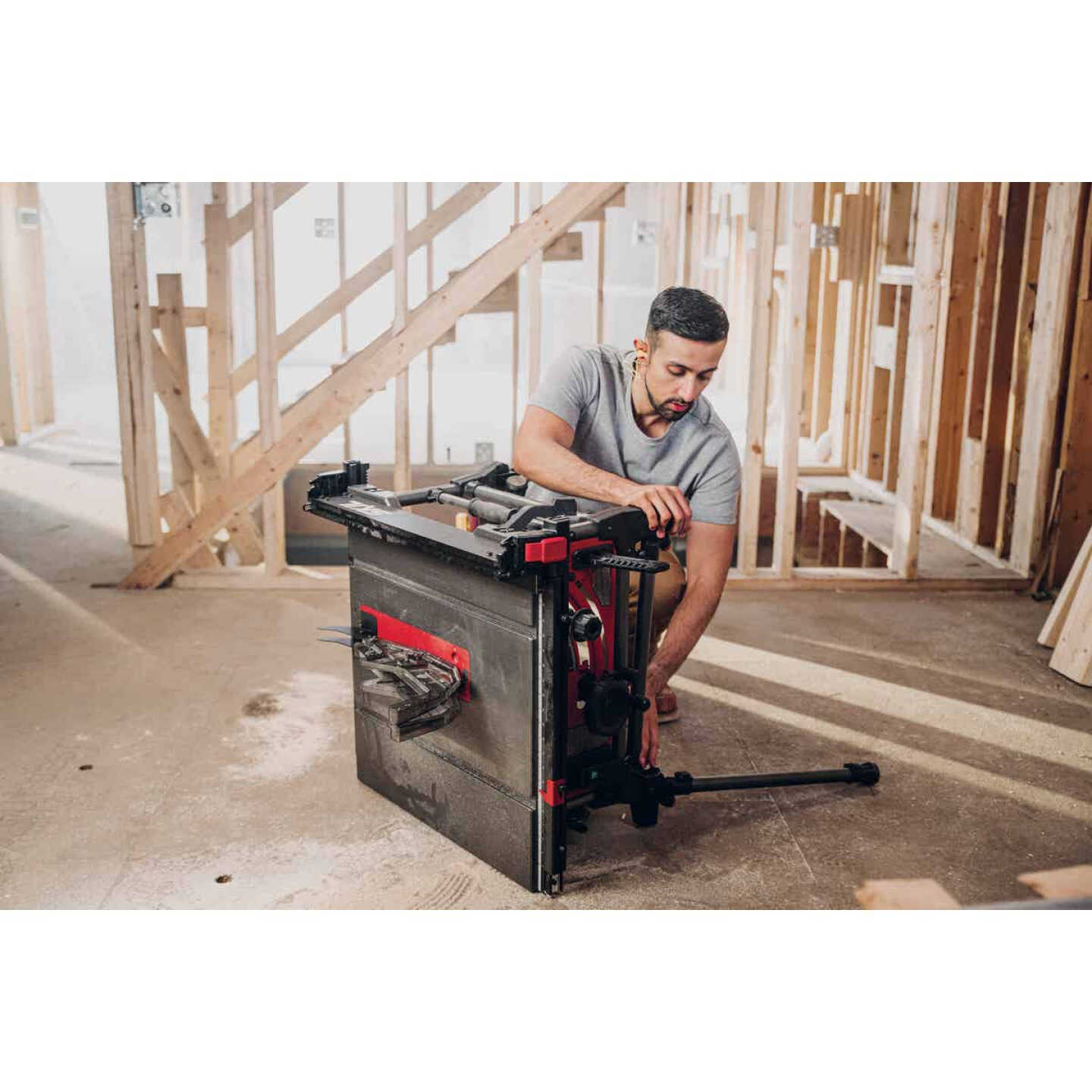 SKIL 15A 10 In. Table Saw with Integrated Folding Stand Image 6