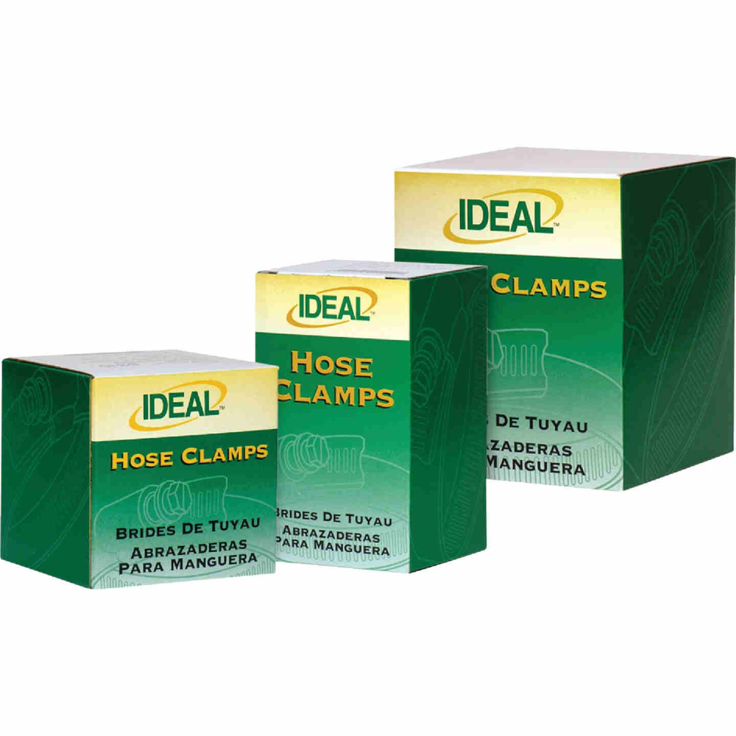 Ideal 3-1/2 In. - 5-1/2 In. 67 All Stainless Steel Hose Clamp Image 2