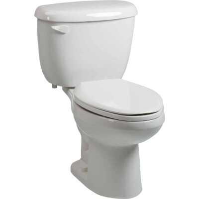 Briggs Altima White Elongated Bowl 1.6 GPF Toilet Express