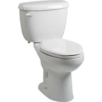 Briggs Abingdon White Elongated Bowl 1.6 GPF Toilet Express
