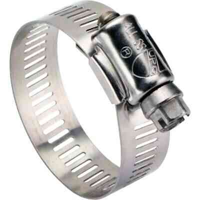 Ideal 3 In. - 4 In. All Stainless Steel Marine-Grade Hose Clamp