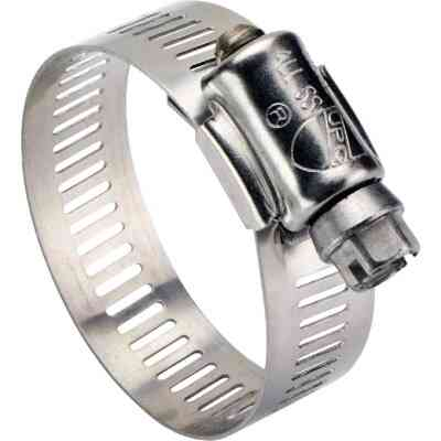 Ideal 3 In. - 5 In. All Stainless Steel Marine-Grade Hose Clamp