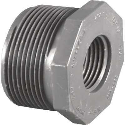 Charlotte Pipe 2 In. MPT x 1-1/2 In. FPT Schedule 80 Reducing PVC Bushing