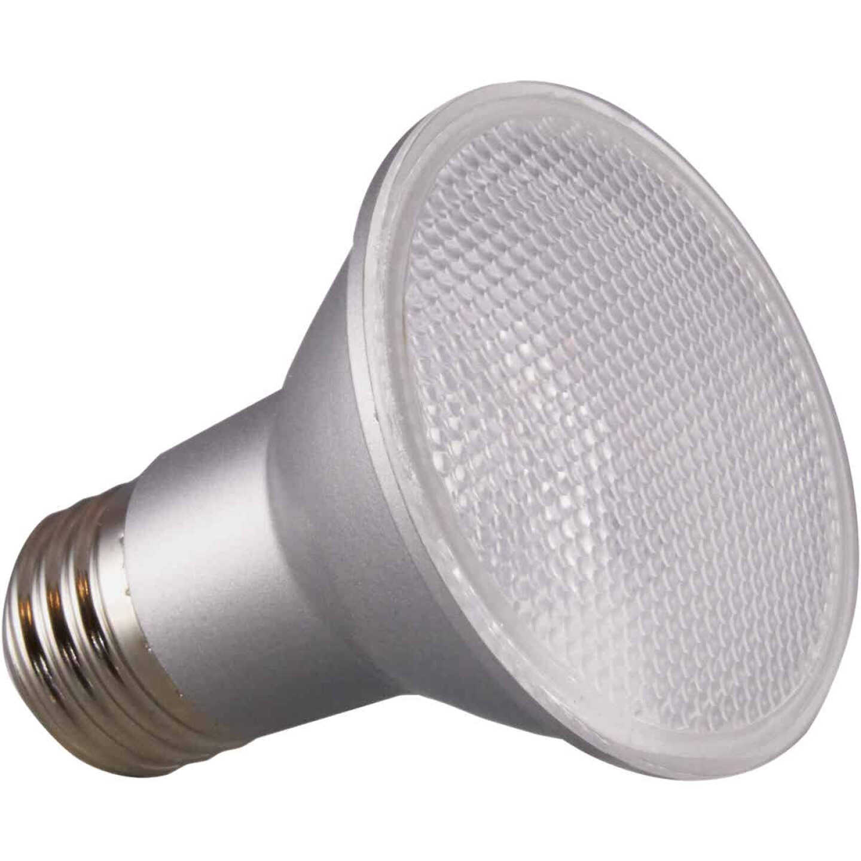 Satco 50W Equivalent Daylight PAR20 Medium Dimmable LED Floodlight Light Bulb Image 1