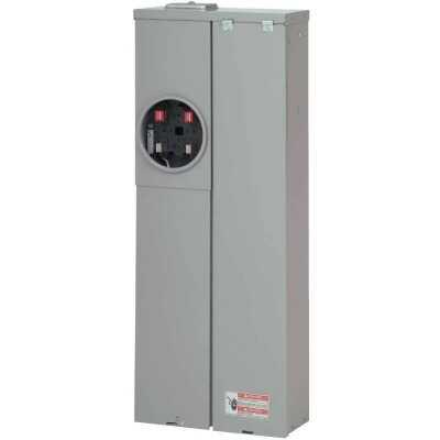 Eaton BR/BD 200A 20-Space 40-Pole Raintight Meter Breaker Panel