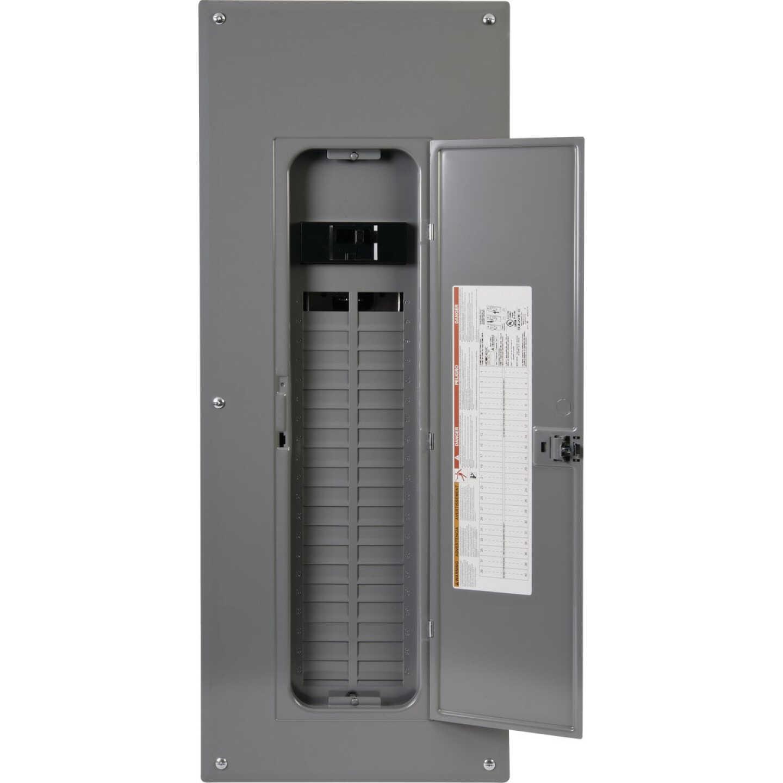 Square D Homeline 200A 40-Space 80-Pole Indoor Meter Breaker Panel Image 1