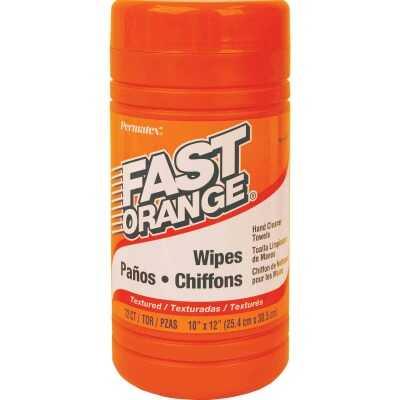 PERMATEX Citrus Pop-up Dispenser Hand Cleaner Wipes, (72 Ct.)