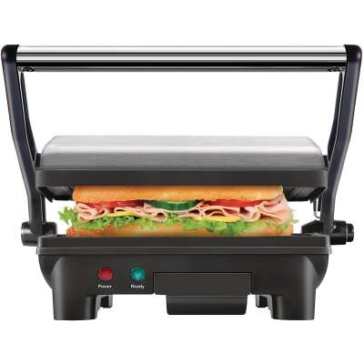 Chefman Electric Panini Press Grill and Gourmet Sandwich Maker (2 Slice)