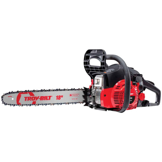 Troy-Bilt TB4218 42cc 2-Cycle 18 In. Gas Chainsaw
