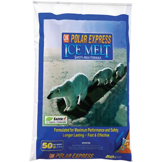 Qik Joe Polar Express 50 Lb. Ice Melt Pellets
