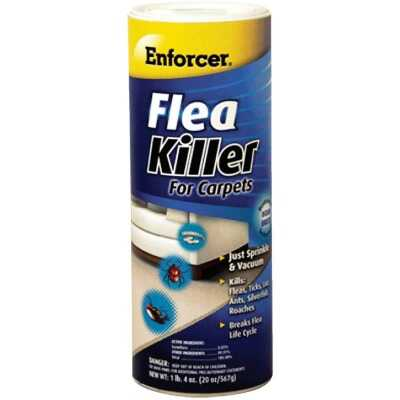 Enforcer 20 Oz. Ready To Use Powder Tick & Flea Killer For Carpets