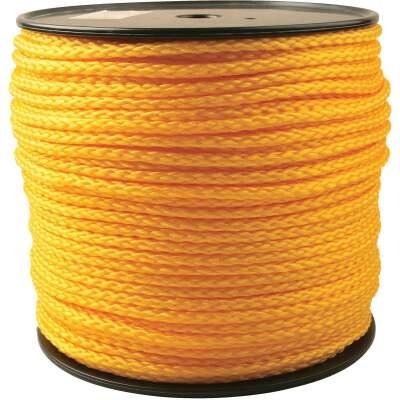 Do it 5/16 In. x 750 Ft. Yellow Braided Polypropylene Rope