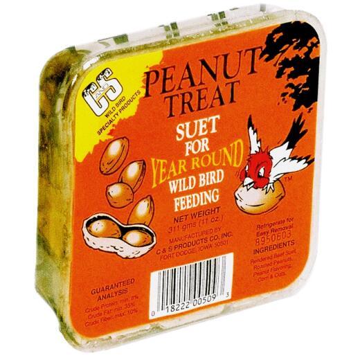 C&S 11 Oz. Peanut Treat Suet