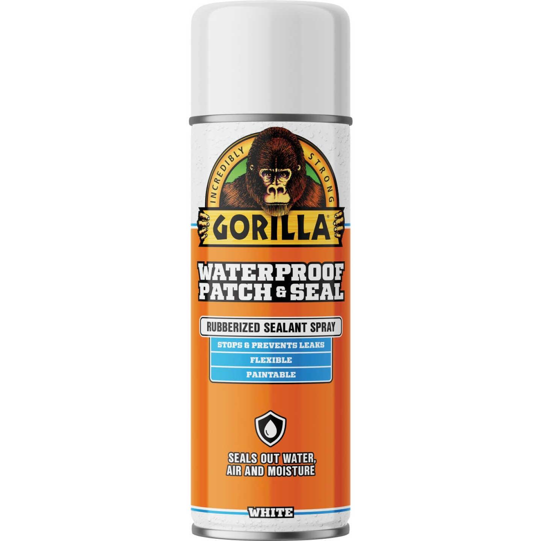 Gorilla 14 Oz. White Waterproof Patch & Seal Spray Image 1
