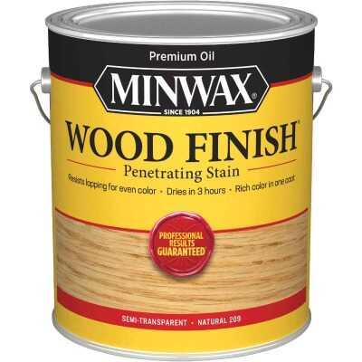 Minwax Wood Finish VOC Penetrating Stain, Natural, 1 Gal.