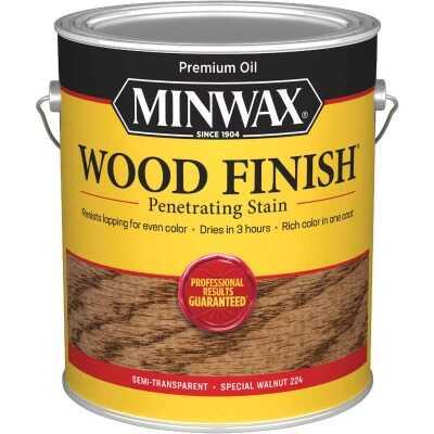 Minwax Wood Finish VOC Penetrating Stain, Special Walnut, 1 Gal.