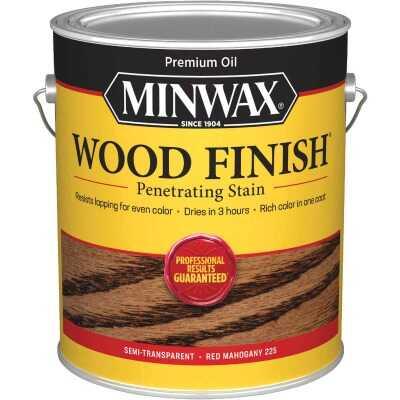 Minwax Wood Finish VOC Penetrating Stain, Red Mahogany, 1 Gal.