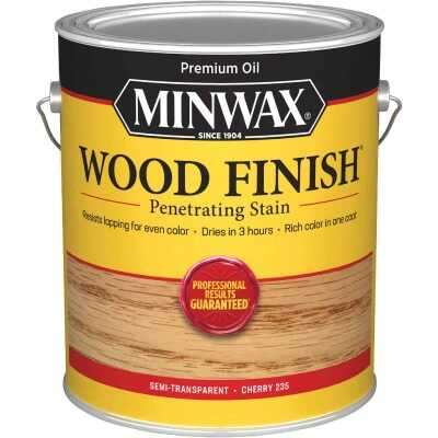 Minwax Wood Finish VOC Penetrating Stain, Cherry, 1 Gal.