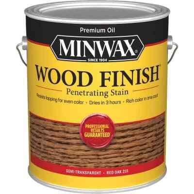 Minwax Wood Finish VOC Penetrating Stain, Red Oak, 1 Gal.