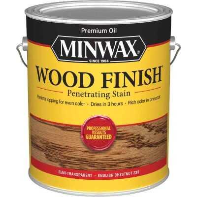 Minwax Wood Finish VOC Penetrating Stain, English Chestnut, 1 Gal.