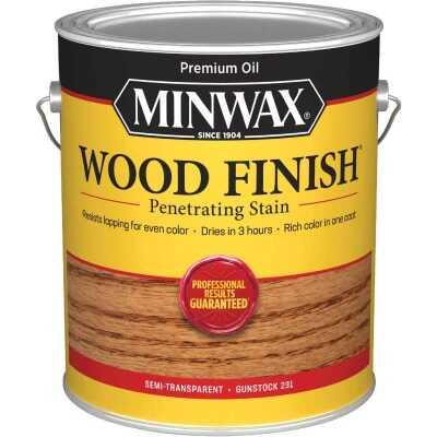Minwax Wood Finish VOC Penetrating Stain, Gunstock, 1 Gal.