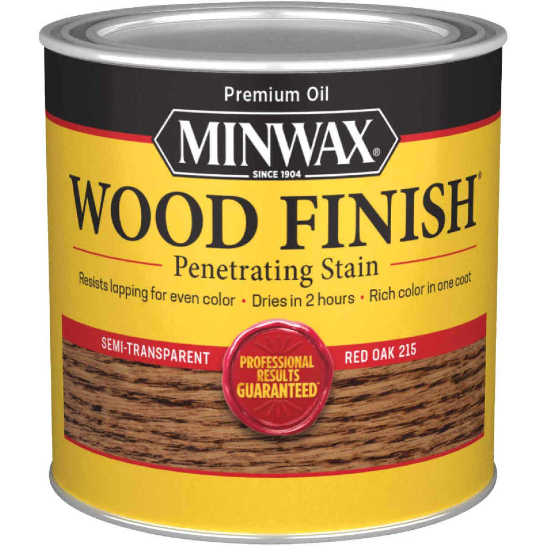 Minwax Wood Finish Penetrating Stain, Red Oak, 1/2 Pt. Image 1