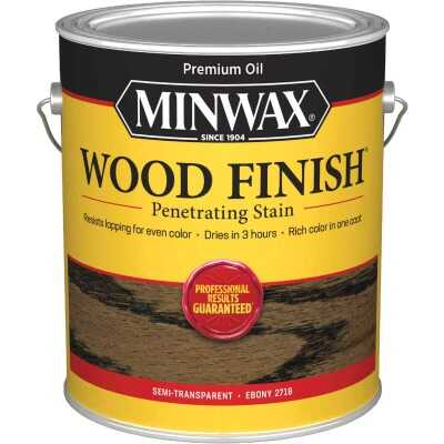 Minwax Wood Finish VOC Penetrating Stain, Ebony, 1 Gal.