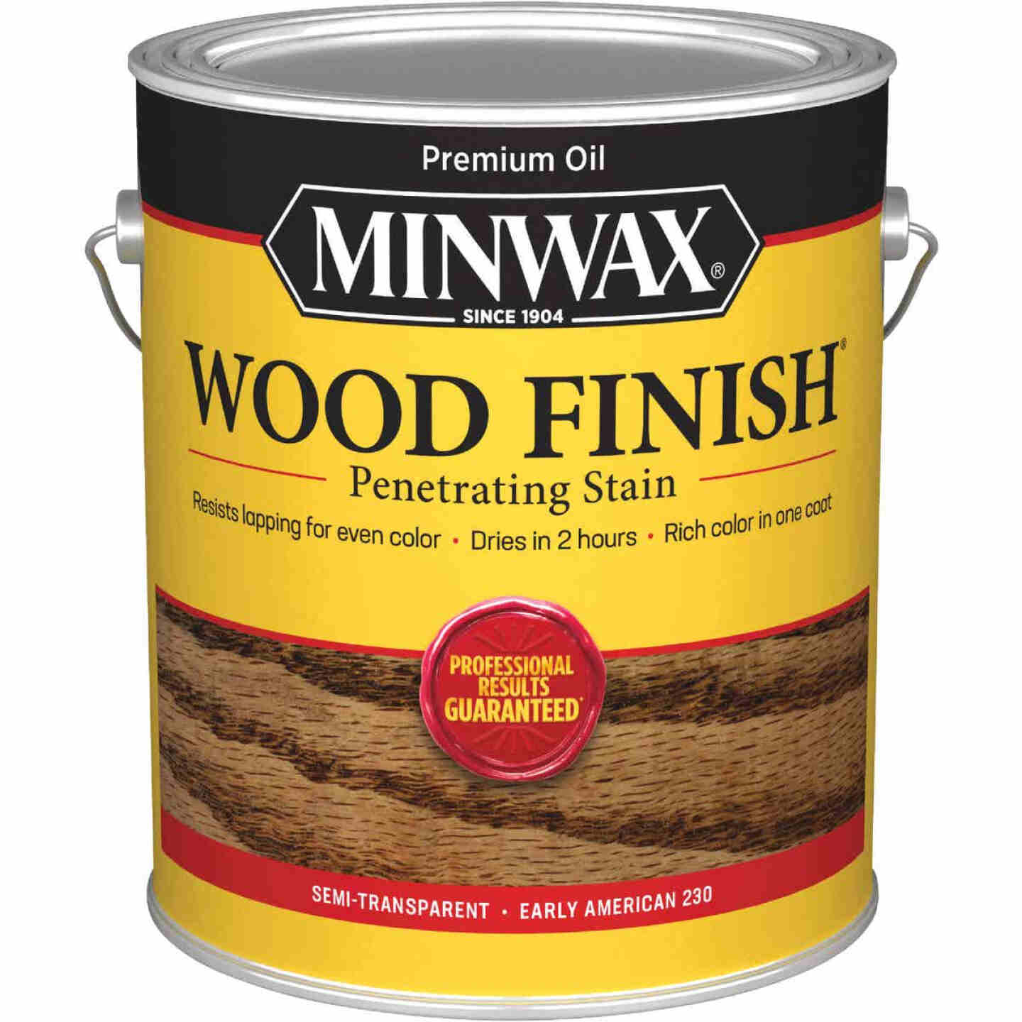 Minwax Wood Finish Penetrating Stain, Early American, 1 Gal. Image 1