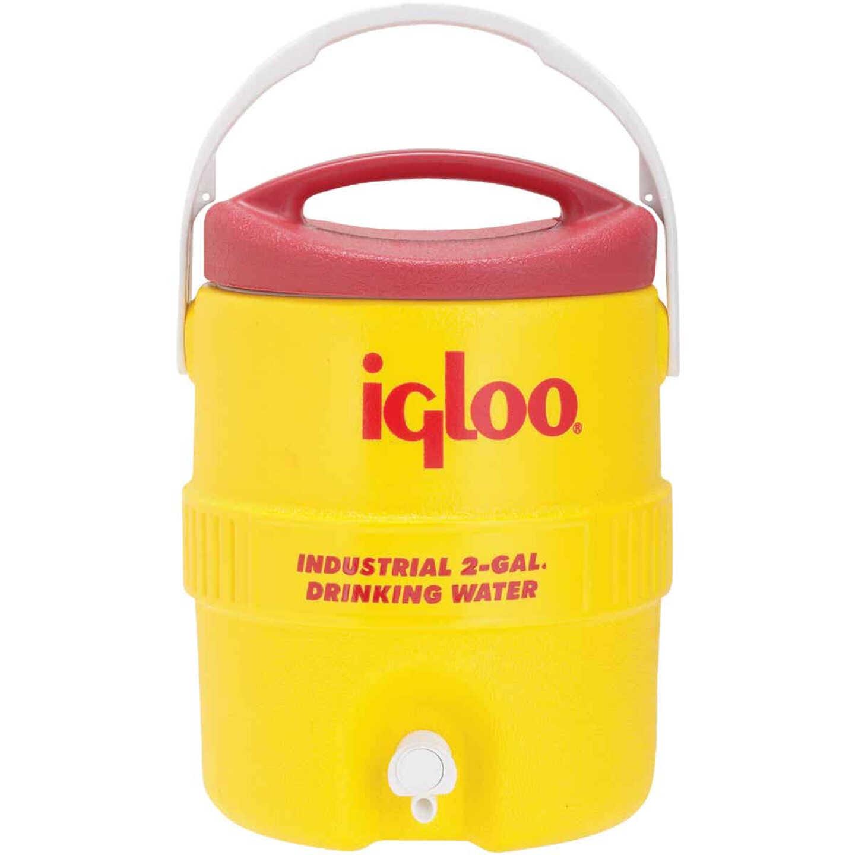 Igloo 2 Gal. Yellow Industrial Water Jug Image 1